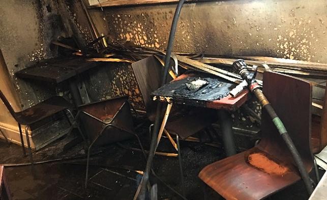 מי הצית את המסעדה היהודית במנצ'סטר?