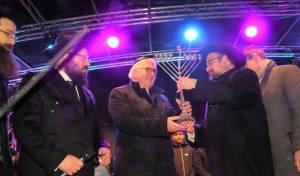הנשיא הגרמני סגר מעגל עם היהודים. צפו