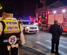 טרגדיה בירושלים: גבר בן 60 נספה בשריפה בבניין מגורים