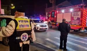 טרגדיה בירושלים: גבר בן 40 נספה בשריפה בבניין מגורים