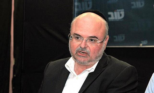 """יו""""ר מפלגת 'טוב' חנוך ורדיגר"""