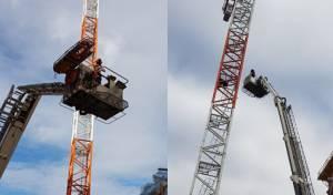 החייאה וחילוץ בגובה של 40 מטרים • צפו