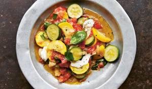 ראגו זוקיני ועגבניות