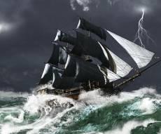 סערה בלב ים. אילוסטרציה