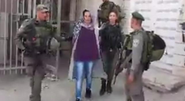 מובלת למעצר
