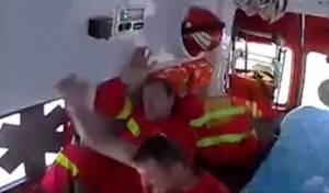 דרמטי: אמבולנס קיבל קריאה ועשה תאונה