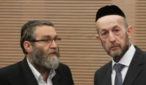 """חברי הכנסת מקלב וגפני - חילונים נגד הצע""""ח של מקלב וגפני"""