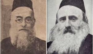 """הגרי""""ל צירלסון והאדמו""""ר רבי דוד בורנשטיין מסוכטשוב"""