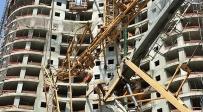 ללא נפגעים: מנוף התפרק באתר בניה