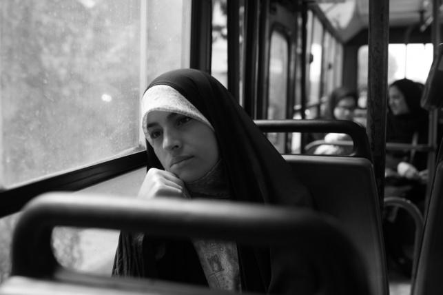 אישה באיראן. אילוסטרציה