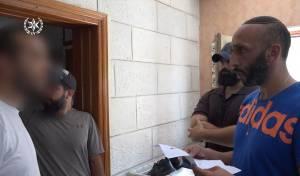 צפו: פשיטה על בית פעיל חמאס בירושלים