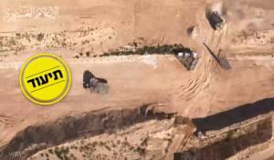 החמאס מציג: רחפן הריגול שמתעד בישראל
