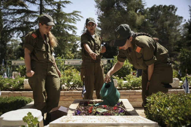 אילוסטרציה. בית קברות צבאי