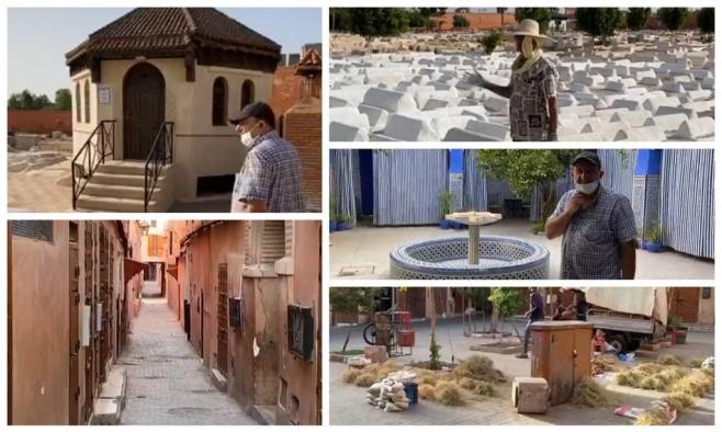 סיור מצולם בבתי-כנסת ואתרים במרוקו. צפו
