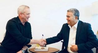 אחרי משבר אורלי אבקסיס: פרץ וגנץ נפגשו