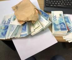 חלק מהכסף שנשדד - אישום נגד גנבי המיליונים מ'מודיעין אזרחי'