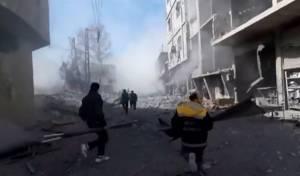 123 בני אדם נהרגו בהפגזות הצבא הסורי