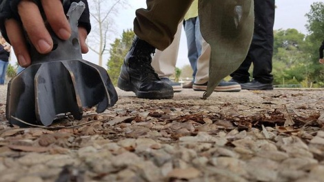 """פצצת מרגמה - באמצע היום: פצמ""""רים שוגרו מעזה לישראל"""
