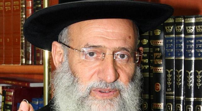 הרב ראובן אלבז (צילום: פלאש 90)