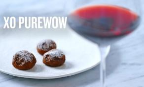 טראפלס שוקולד ויין אדום - חיכינו - והנה זה בא: טראפלס שוקולד ויין אדום