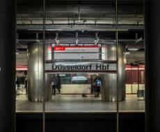 תחנת הרכבת התחתית בדוסלדורף, שם אירע הפיגוע