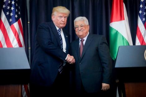 טראמפ מתנגד למדינה; הפלסטינים זועמים