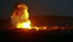 תקיפה ישראלית בסוריה