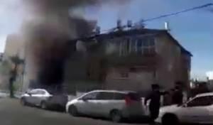 התיעוד הדרמטי מהשריפה - מצלמה מבצעית תיעדה את השריפה בשבת