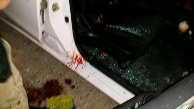 הרכב שנפגע אמש