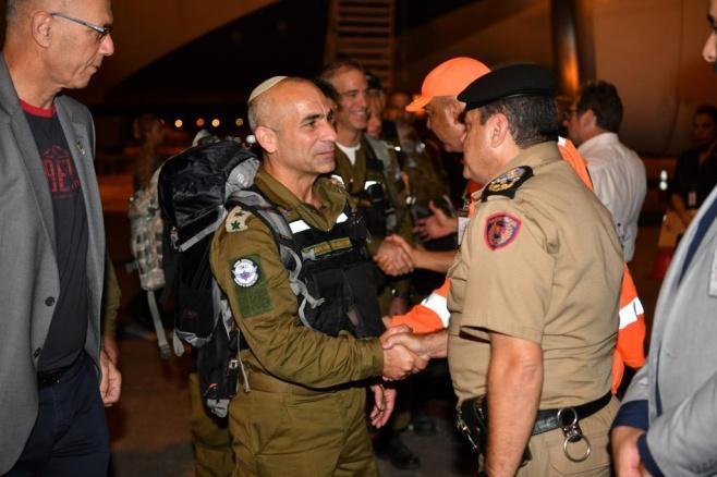 """צפו: משלחת צה""""ל לאסון - נחתה בברזיל"""