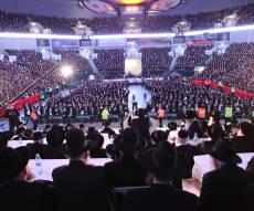 כינוס 'הפלג' ב'ארנה', לפני הבחירות הקודמות