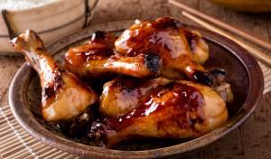 עוף חמוץ-מתוק בתנור