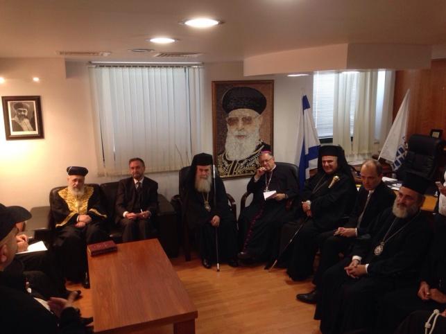"""מנהיגי הדתות נפגשו: """"להגביר השלום"""" • צפו"""