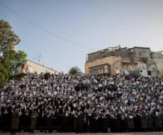 """אלפי הילדים התפללו לביטול """"גזירת הגיוס"""""""