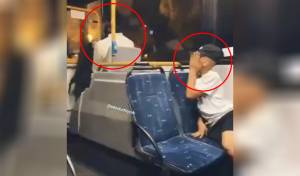 נער ערבי ירק על נוסע חרדי באוטובוס ונתפס