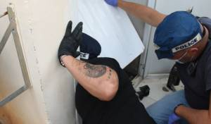 בעת המעצר