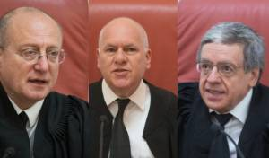 מימין לשמאל: מזוז, פוגלמן ושטיין
