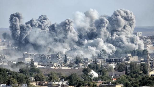 הפצצה בסוריה אילוסטרציה