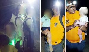 המחולצים - לאחר 6 שעות: משפחה בת 18 נפשות חולצה מנחל עמוד