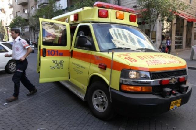 בדרך לחיידר: הילד נפצע באורח קשה בתאונה