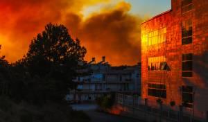 גל שריפות ענק בסמוך לבודרום שבטורקיה