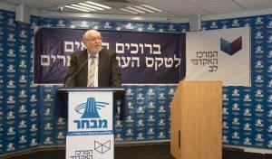 """הרב מאיר יעקובוביץ, מנכ""""ל מבח""""ר."""