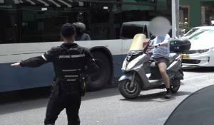 135 דוחות לנהגים במבצע משטרתי • צפו