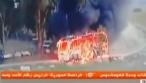 חמאס תיעד את פגיעת הטיל באוטובוס. צפו