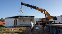 עמיחי - הוצבו בתים ראשונים ביישוב למפוני עמונה