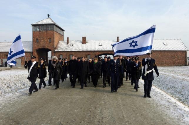 משלחת ישראלית באושוויץ