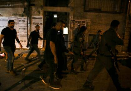 שוטרים ובלשים בשכונת מאה שערים, אילוסטרציה
