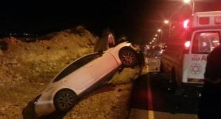 כביש 463: הרוג ושלושה נפגעים