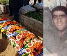 """אברהם עג'מי בזמן שירותו בצה""""ל - החייל נפטר - 31 שנה אחרי שנפצע בלבנון"""