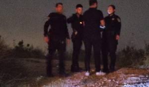 """כוחות הביטחון באירוע זריקת הבקת""""בים, אמש"""